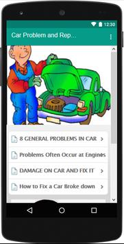 Car Problems and Repairs - Tutorial screenshot 1