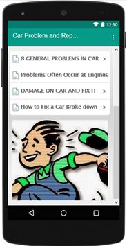 Car Problems and Repairs - Tutorial screenshot 2
