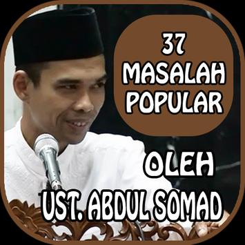 Pembahasan 37 Masalah Popular - Ust. Abdul Somad poster