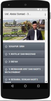 Pembahasan 37 Masalah Popular - Ust. Abdul Somad apk screenshot