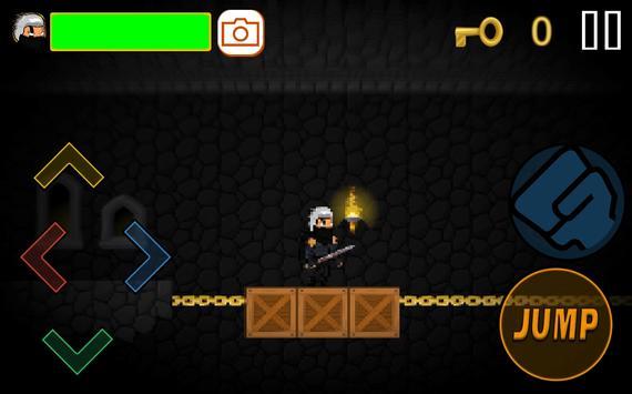 Ninja Maze Under screenshot 1