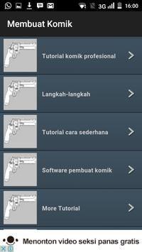 Membuat Komik Tutorial apk screenshot