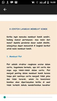 Membuat Komik Tutorial poster
