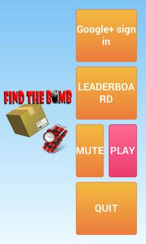 Find the bomb poster