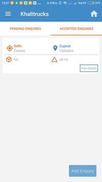 Khalitrucks Customers apk screenshot