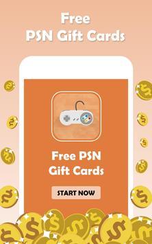 Free PSN Codes Generator - Free  PSN  Gift Cards poster
