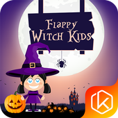 Flappy Witch for Kids icon
