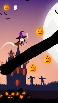 Flappy Witch for Kids screenshot 3