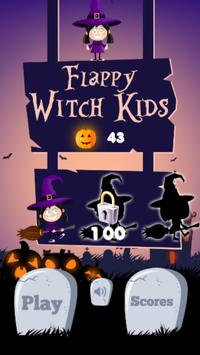 Flappy Witch for Kids poster