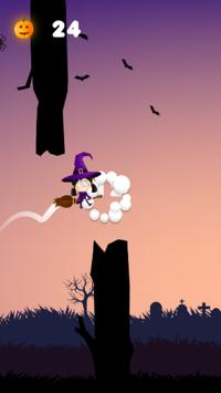 Flappy Witch for Kids screenshot 2