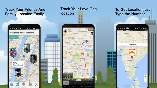 Cell Phone Tracker Location For Android APK Download - Locate cell number on map