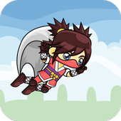 Fly Ninja Girl icon
