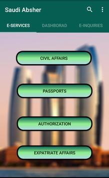 Saudi Absher screenshot 2