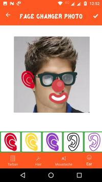 Funny face photo maker and editor poster