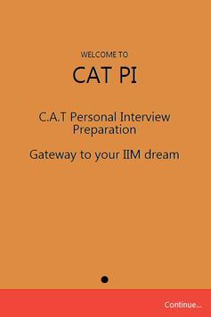 CAT PI poster