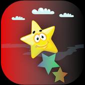 lock stars icon