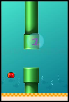 Flappy Squid poster