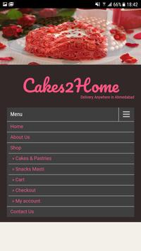 Cakes2Home screenshot 1