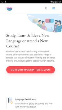Khichdi Class Education screenshot 1