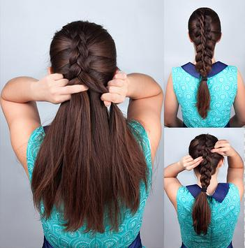 Easy Hairstyles step by step 2018 poster