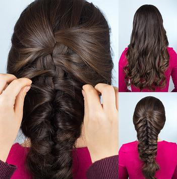 Easy Hairstyles step by step 2018 apk screenshot