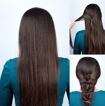Easy Hairstyles step by step 2018 apk screenshot