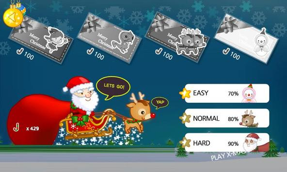 CUTE SANTA  FLYING GAME apk screenshot