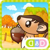 Cute Squirrel NUTS 2 icon