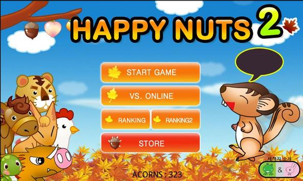 Cute Squirrel NUTS 2 poster