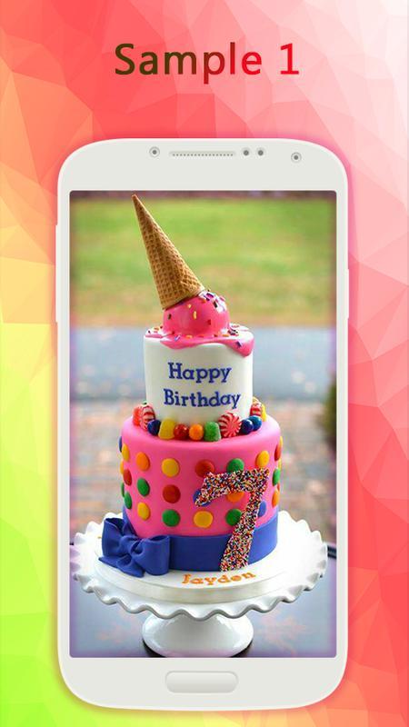 Happy Birthday Cakes Screenshot 19