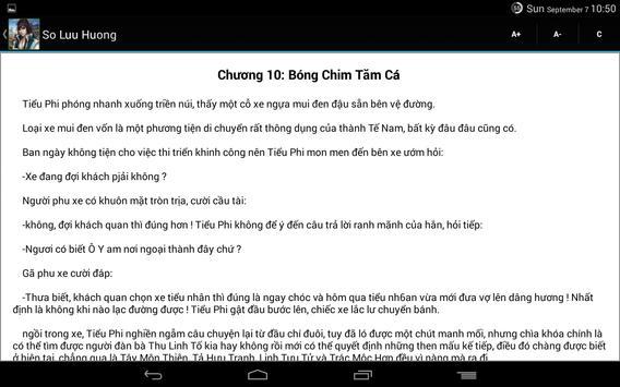 Sở Lưu Hương Truyền Kỳ apk screenshot