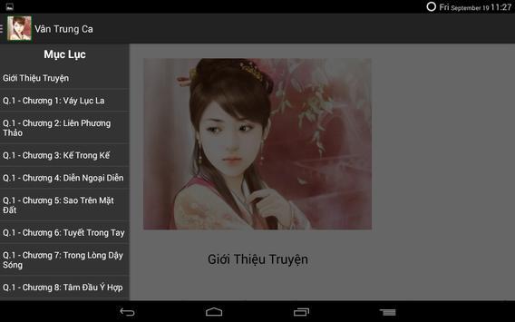 Vân Trung Ca apk screenshot
