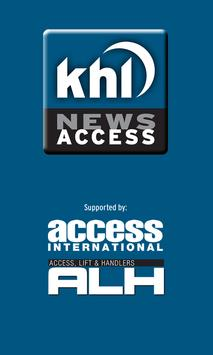 KHL Access News poster