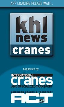 KHL Crane News poster