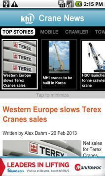 KHL Crane News apk screenshot