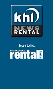 KHL Rental News poster