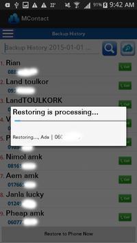 MContact apk screenshot