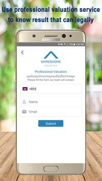 Khmer Home Cambodia Real Estate Valuation screenshot 2