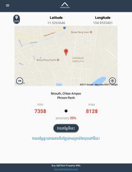 Khmer Home Cambodia Real Estate Valuation screenshot 8