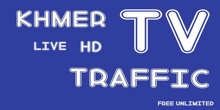 KHMER Live TV Traffic poster