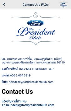 Ford President Club apk screenshot