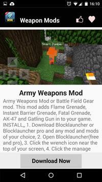 Weapon MOD For MCPE! screenshot 14