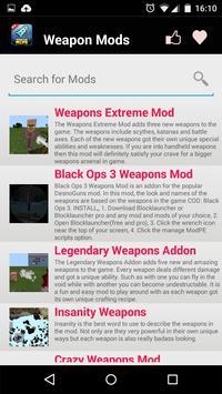 Weapon MOD For MCPE! screenshot 10