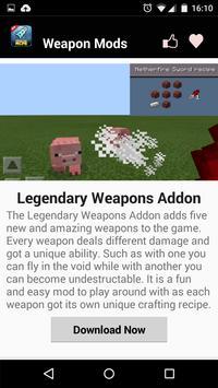 Weapon MOD For MCPE! screenshot 2