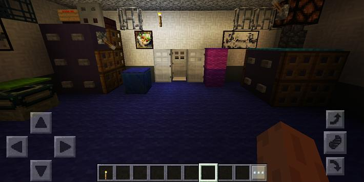 Five Nights at Freddys Night 4. Map for MCPE screenshot 23