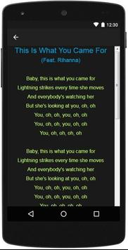 Calvin Harris Top Lyrics screenshot 3