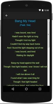 David Guetta Top Lyrics screenshot 10