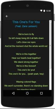 David Guetta Top Lyrics screenshot 3
