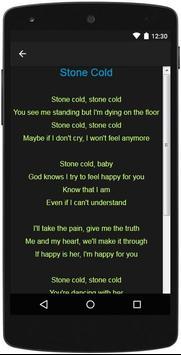 Demi Lovato Top Lyrics screenshot 3
