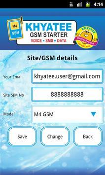 Khyatee GSM Starter apk screenshot